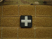 JTG Red Cross Medic 25mm Patch SWAT