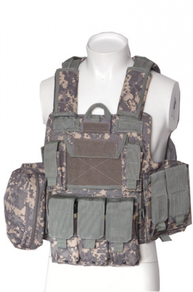 RT CIRAS vest with pouches - ACU