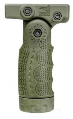 FAB Defense 7 Positions Vertically Folding Foregrip Green