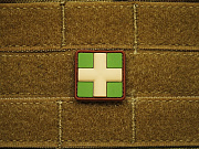 JTG Red Cross Medic 25mm Patch Multicam
