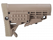CAA Collapsible Butt Stock Khaki