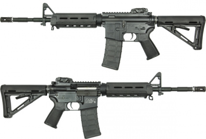King Arms S&W M&P15 MOE BK