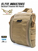 Flyye Tactical Trauma Kit Pouch Khaki