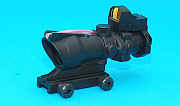 G&P ACOG 4x32 Scope with Docter Red Dot Sight