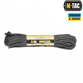 M-Tac паракорд 550 type III Grey Diamond 30м