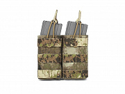 WAS Double MOLLE Open 5.56mm Pouch A-TACS AU