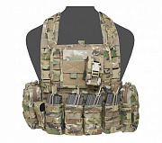 WAS 901 Elite 4 Chest Rig Multicam