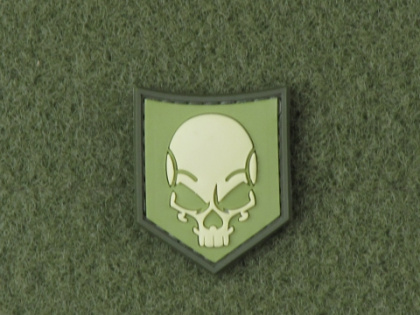 JTG SOF Skull Patch Light Forest