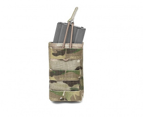 WAS Single MOLLE Open 5.56mm Pouch Multicam