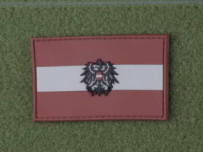 JTG Austria Flag Patch DarkDesert