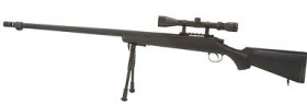 China made MB07D Spring Rifle BK (with scope & bipod)
