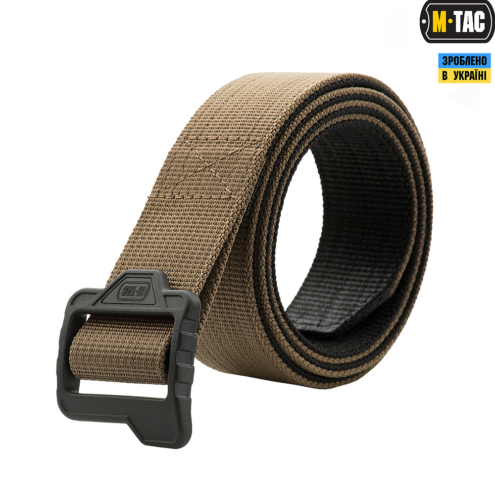 M-Tac ремінь Double Duty Tactical Belt Coyote/Black
