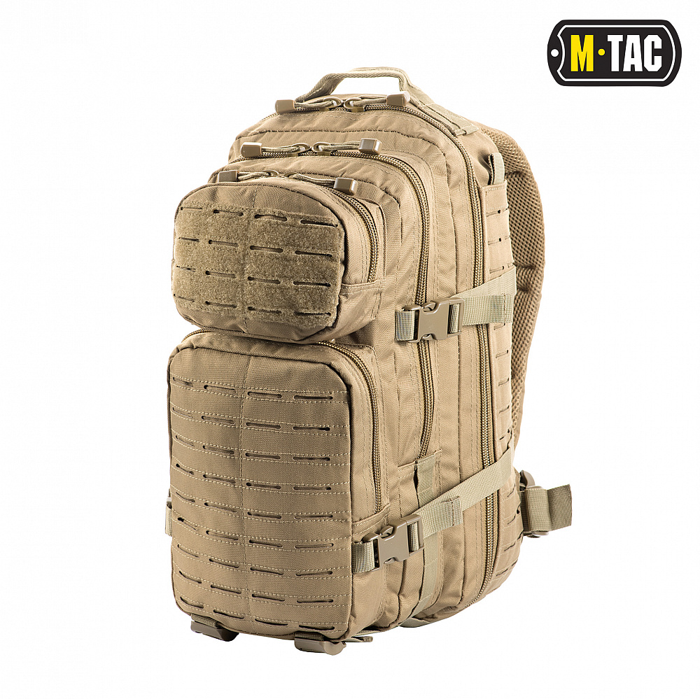M-Tac рюкзак Assault Pack Laser Cut Tan