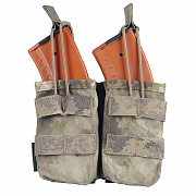 WAS Double MOLLE Open AK 7.62mm Pouch A-TACS AU