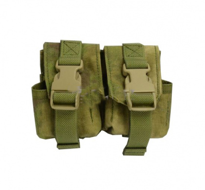 Flyye Double Frag Grenade Pouch A-TACS FG