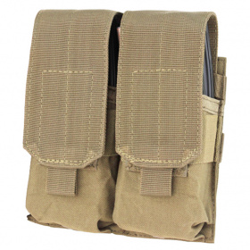 Condor Double M4 Mag Pouch Tan