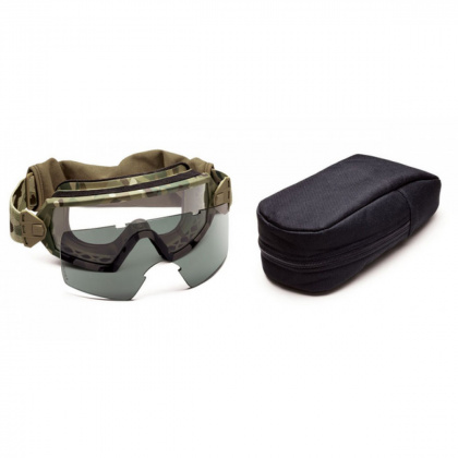 Smith Optics очки-маска Outside The Wire Multicam Frame Clear/Gray Lens