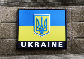 JTG Ukraine Flag Patch Fullcolor