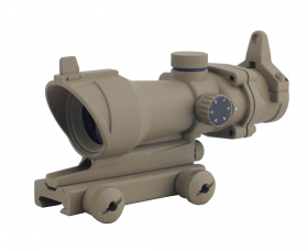 China made ACOG-style Red Dot Scope (without markings) TAN