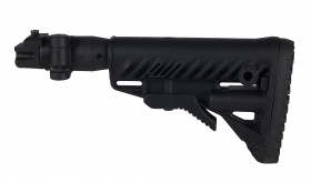 FAB Defense M4 Folding Buttstock for AK47 (Polymer Joint) Black