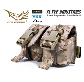 Flyye Double Frag Grenade Pouch AOR1