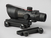 China made ACOG-style (with optic fiber dummy) Red/Green Dot Scope