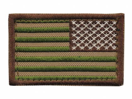 Condor USA Flag Velcro Patch Reverse Multicam