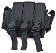 Guarder SMG Mag Pouch for SOG CQB Vest (BK)