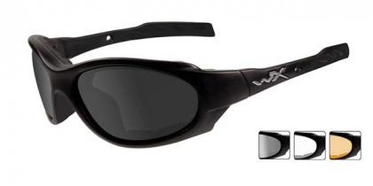 Wiley X очки XL-1 Advanced Smoke/Clear/Light Rust Lens/Matte Black Frame