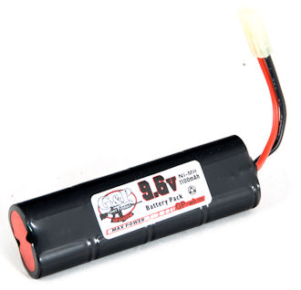 G&P 9.6V 1100mAh Mini Type