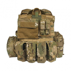 Multicam CIRAS vest with pouches type 2