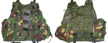 Highlander TACTICAL ASSAULT VEST Fastex DPM