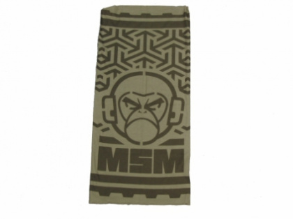 MSM Logo Multi-wrap DustyBrown