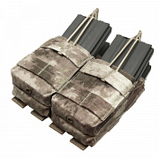 Condor Double Stacker Open-Top M4 Mag Pouch A-TACS AU
