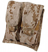 Flyye MOLLE Double M4/M16 Mag Pouch AOR1
