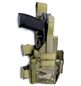 Highlander Drop Leg Pistol Holster Multicam