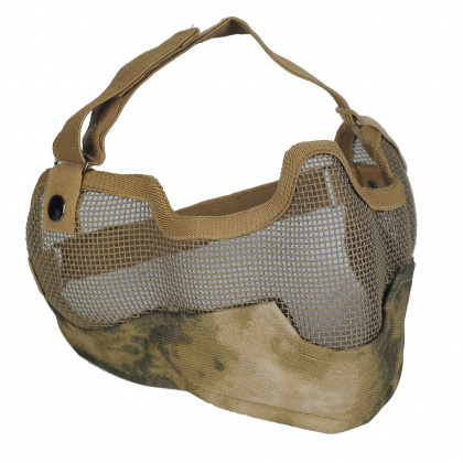 Emerson V2 Strike Steel Half Face Mask A-TACS FG