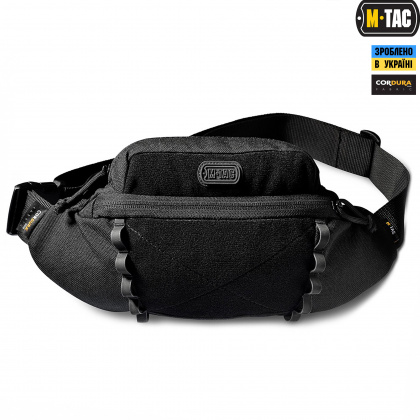 M-Tac сумка Tactical Waist Bag Elite Black