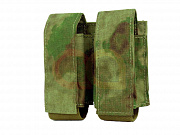 Emerson LBT-style 40mm Double Pouch A-TACS FG