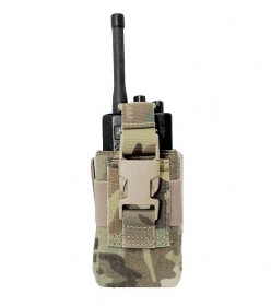 WAS Small Radio Pouch Multicam