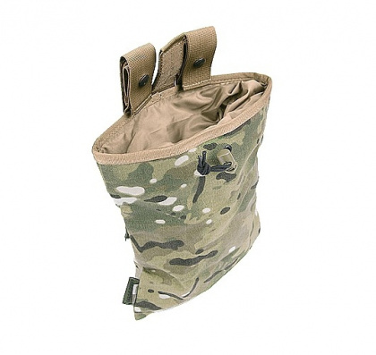 WAS Large Roll Up Dump Pouch Multicam