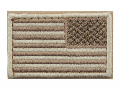 Condor USA Flag Velcro Patch Reverse Desert
