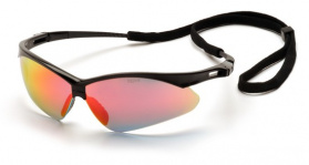 Очки защитные Pyramex PMXtreme (black frame, ice orange mirror lens)