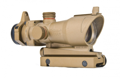 China made ACOG-style Red Dot Scope (with markings) TAN