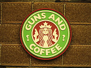 JTG Guns and Coffee Patch Multicam