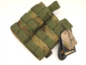 Flyye MOLLE EV Universal Double Mag Pouch A-TACS FG