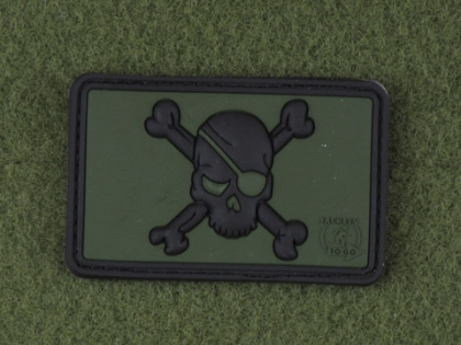 JTG Pirate Skull Patch Forest