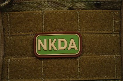 JTG NKDA Patch Multicam