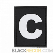 JTG Letter C Identification Patch SWAT