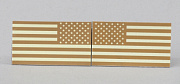 TMC US Flag Reflective IR Patch Set TAN